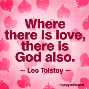 where there is love there is god also copy