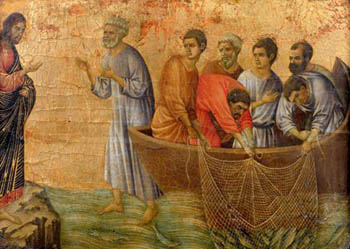 By the 14th century Italian painter Duccio