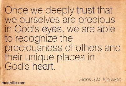 Nouwen on Trust